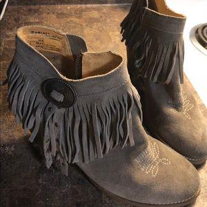 Ariat fringe boots